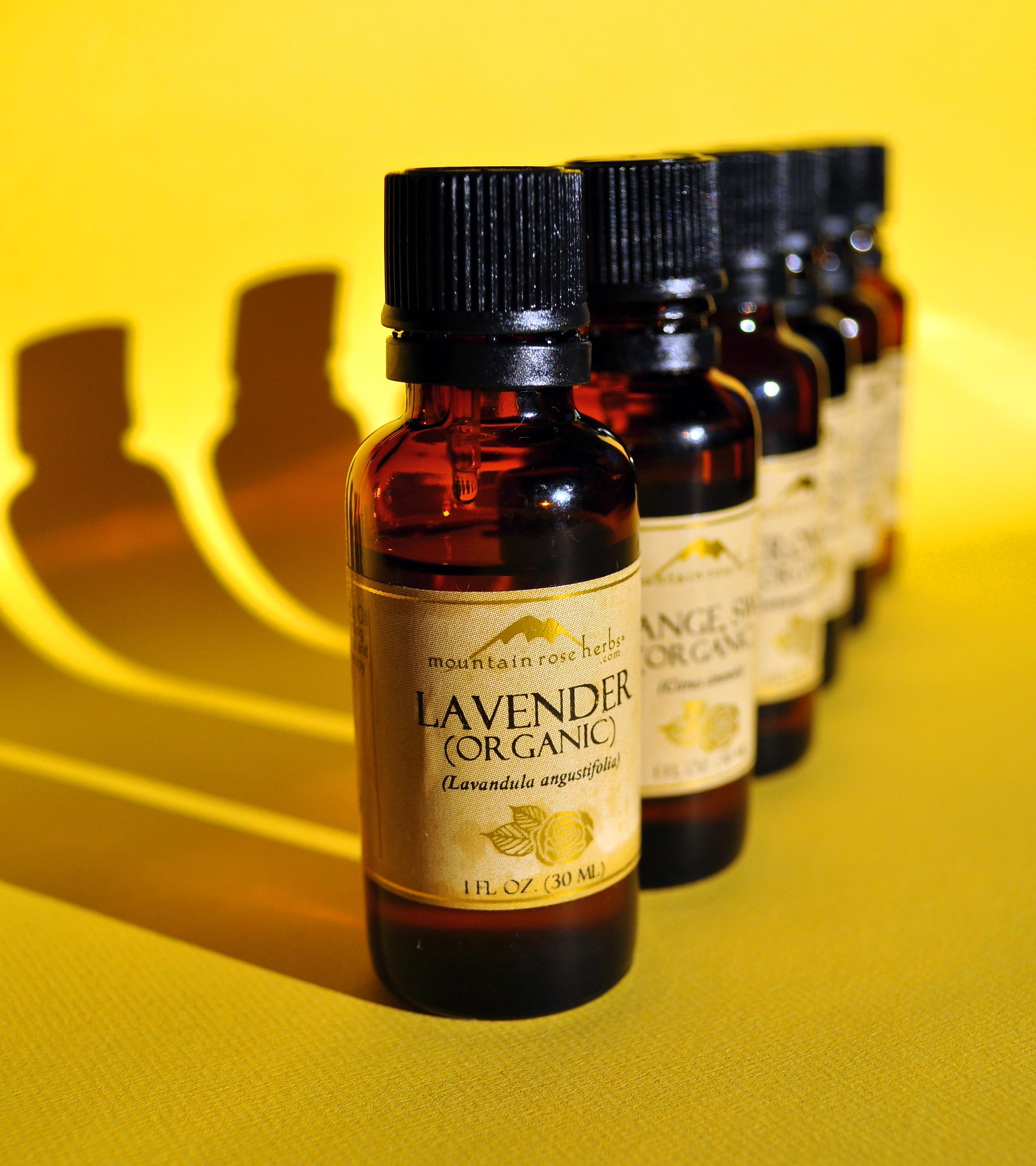 Natural Perfume Oil Recipes