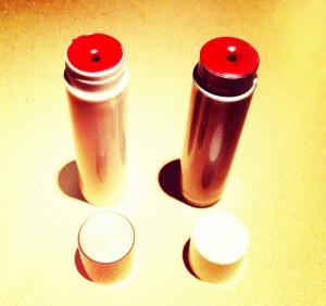organic natural red lipstick